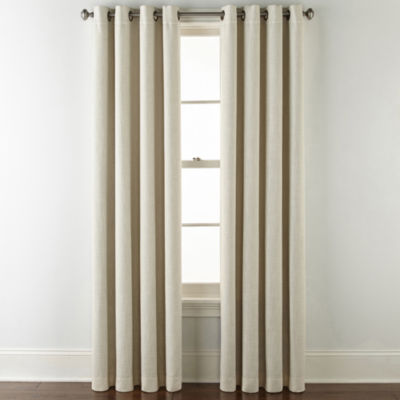 JCPenney Home Sullivan Blackout Grommet-Top Curtain Panel