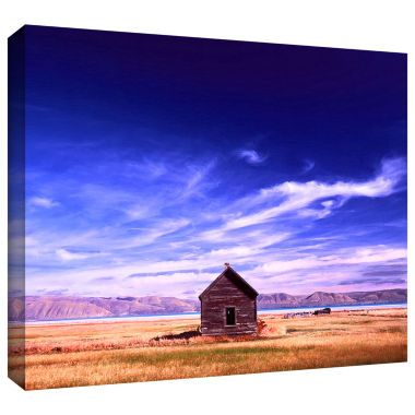 Brushstone Bear Lake Autumn Gallery Wrapped Canvas Wall Art