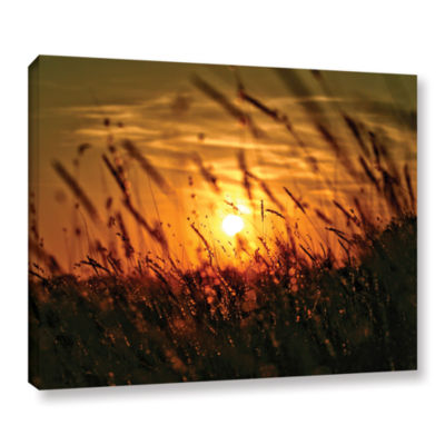 Brushstone An Evening With The Quiet Voice GalleryWrapped Canvas Wall Art