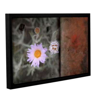 Brushstone Approach Gallery Wrapped Framed CanvasWall Art