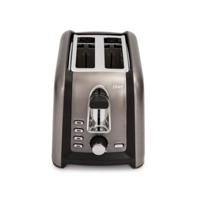 Oster® Black Stainless 2-Slice Toaster