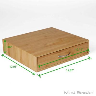 Mind Reader Basic Bamboo K-cup Drawer