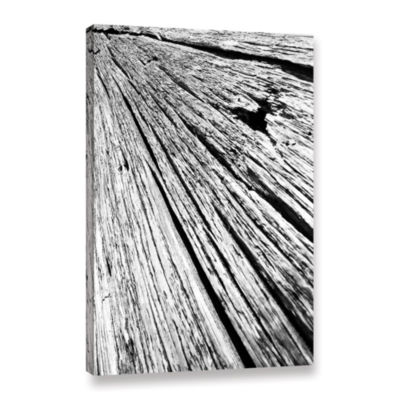 Brushstone Driftwood Gallery Wrapped Canvas Wall Art