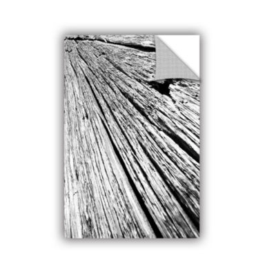 Brushstone Driftwood Removable Wall Decal