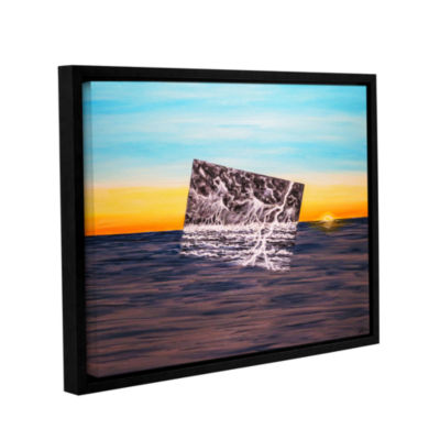 Brushstone Dolores Occulti Gallery Wrapped Floater-Framed Canvas Wall Art