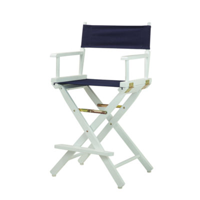 Director's Chair White Frame