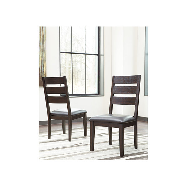 Signature Design by Ashley® Set of 2 Parlone Upholstered Dining Side Chairs