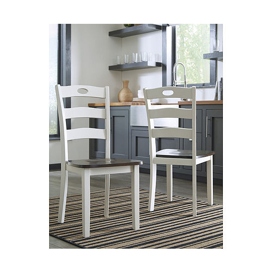 Signature Design by Ashley® Set of 2 Woodanville Dining Side Chairs