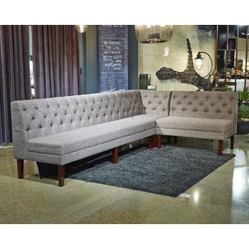 Signature Design by Ashley® Tripton Corner Upholstered Dining Bench
