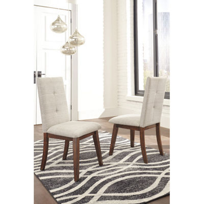 Signature Design by Ashley® Collins Upholstered Parsons Dining Side Chairs - Set of 2