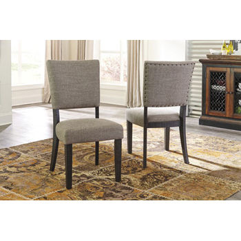 Signature Design by Ashley® Set of 2 Zurani Upholstered Dining Side Chairs