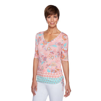 Lark Lane Je Taime Tunic Top