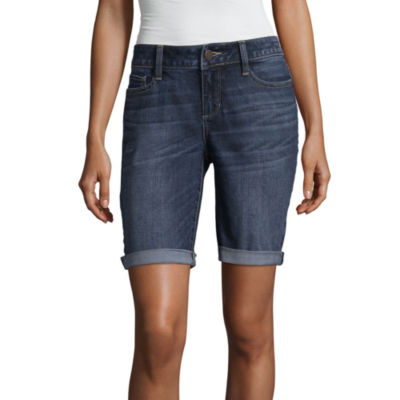 "a.n.a Denim Bermuda Shorts (9"")"