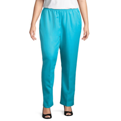 Alfred Dunner All Aflutter Classic Fit Pant- Plus