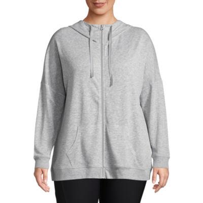 Xersion Long Sleeve Lounge Hoodie - Plus