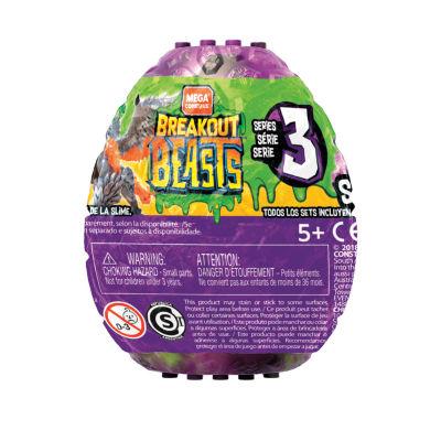 Mega Bloks Breakout Beasts 1 Slime Mystery Egg