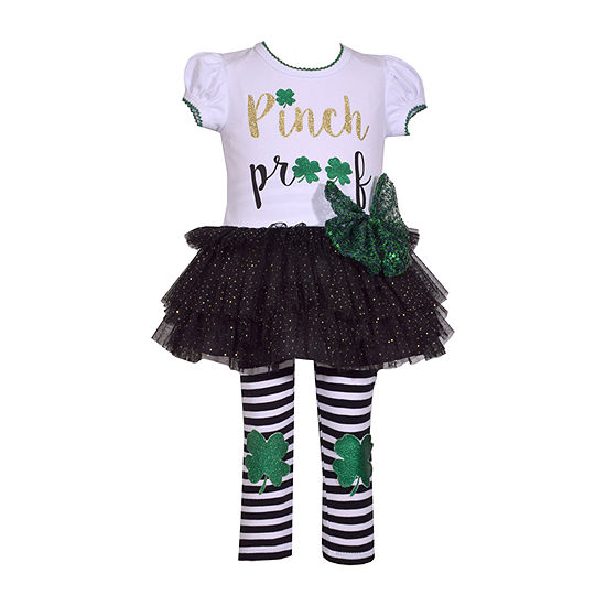 Bonnie Jean Tutu Girls 2-pc. Legging Set-Baby