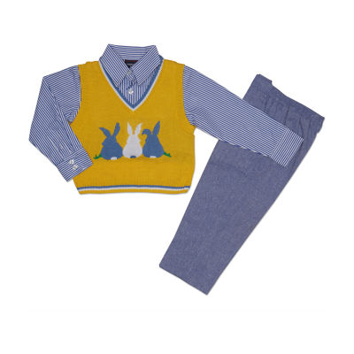 Hudson Ferrell Bunny 3-pc. Pant Set Boys