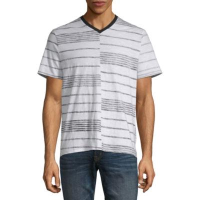 i jeans by Buffalo Mens V Neck Short Sleeve T-Shirt