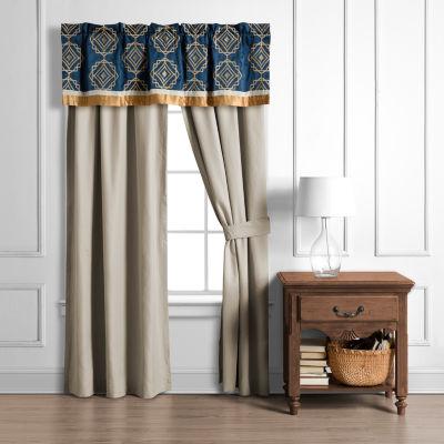 Embry Rod-Pocket Curtain Panel
