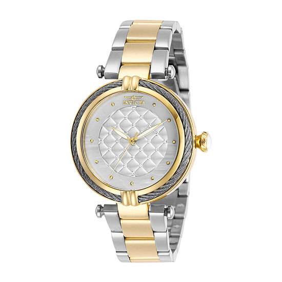 Invicta Bolt Womens Two Tone Stainless Steel Bracelet Watch-28934