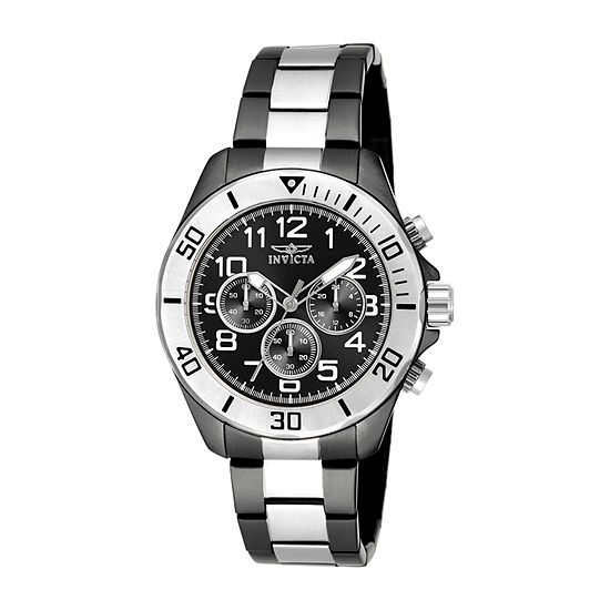 Invicta Pro Diver Mens Two Tone Stainless Steel Bracelet Watch-18222