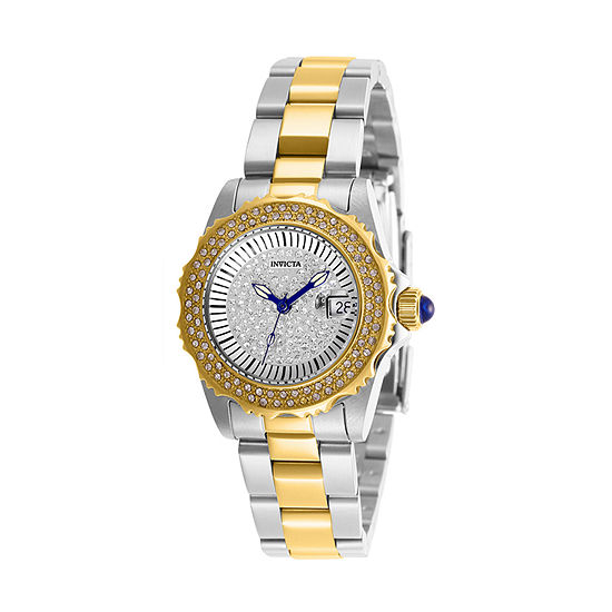 Invicta Angel Womens Two Tone Stainless Steel Bracelet Watch-28440