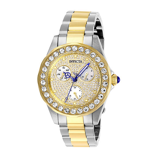 Invicta Angel Womens Two Tone Stainless Steel Bracelet Watch-28458