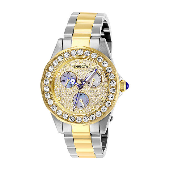 Invicta Angel Womens Two Tone Stainless Steel Bracelet Watch-28459