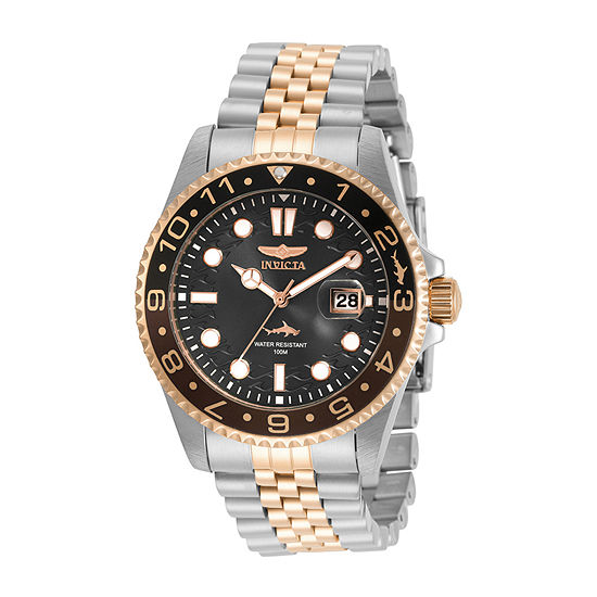 Invicta Pro Diver Mens Two Tone Stainless Steel Bracelet Watch-30626