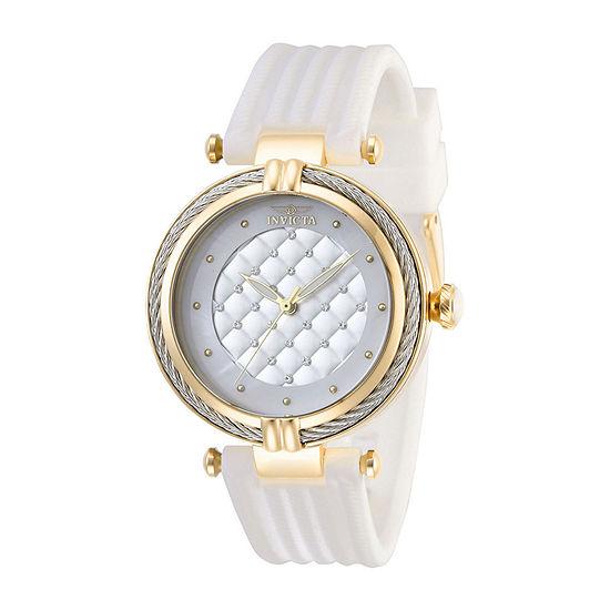 Invicta Bolt Womens White Strap Watch-28943