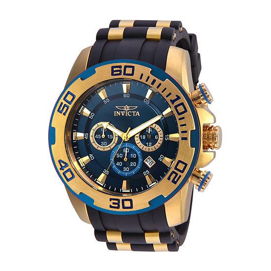 Invicta Pro Diver Mens Black Strap Watch-22341