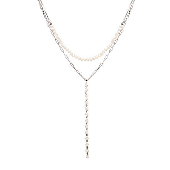 Bijoux Bar 20 Inch Link Necklace