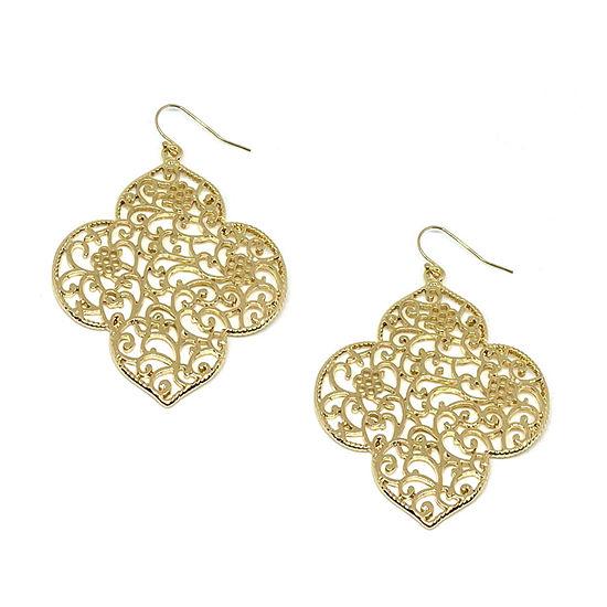 Bijoux Bar Flower Drop Earrings