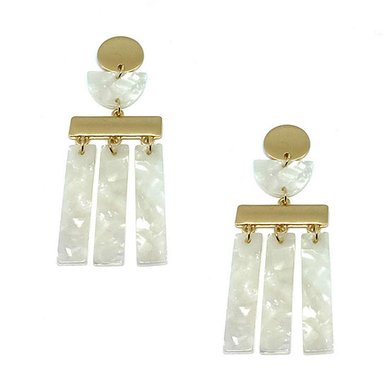 Bijoux Bar Resin Drop Earrings