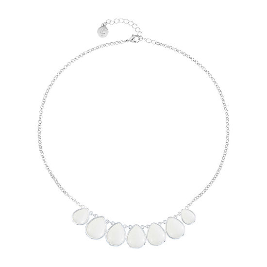 Liz Claiborne 18 Inch Cable Collar Necklace