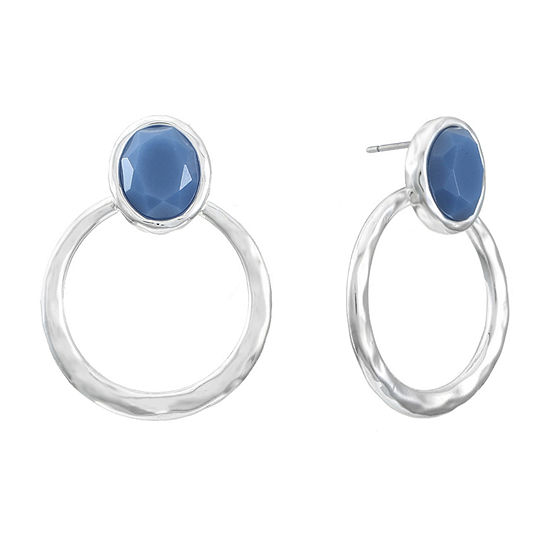 Liz Claiborne Oval Drop Earrings