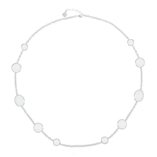 Liz Claiborne 36 Inch Cable Oval Strand Necklace