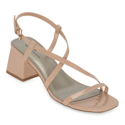 Worthington Womens Zabol Heeled Sandals