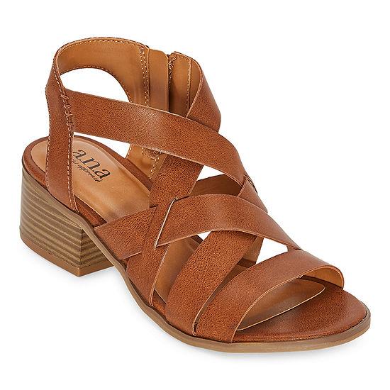 a.n.a Womens Saffron Heeled Sandals