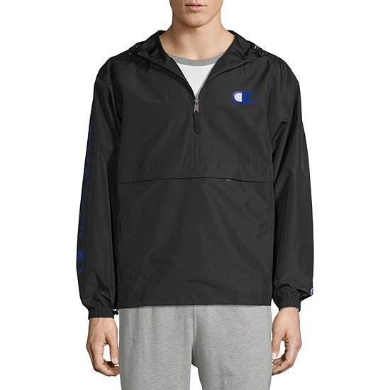 Champion Mens Hooded Neck Long Sleeve Shells