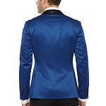 JF J.Ferrar Mens Stretch Super Slim Fit Tuxedo Jacket