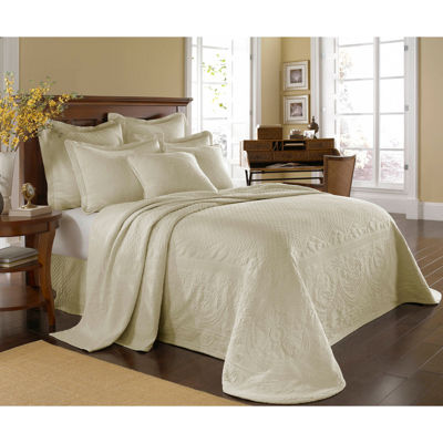 this review is charleston collection king charles matelass bedspread - Matelasse Bedding