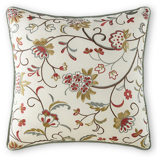 Home Expressions™ Jacobean Stripe Square Decorative Pillow