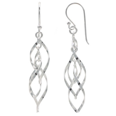 Silver Treasures Drop Earrings