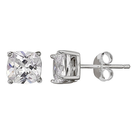 Silver Treasures 6mm Stud Earrings