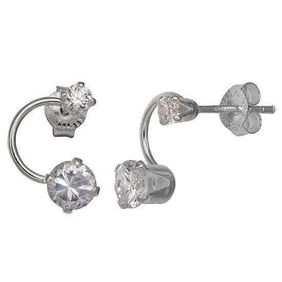 Silver Treasures 15mm Stud Earrings