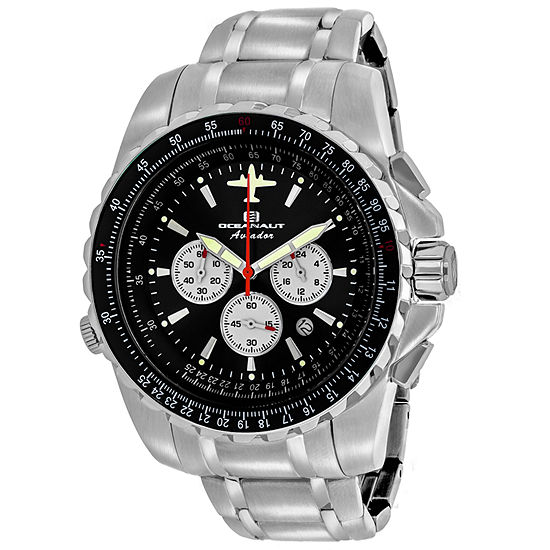 Oceanaut Mens Silver Tone Bracelet Watch-Oc0112