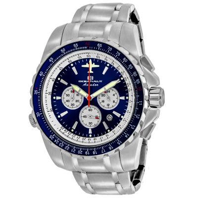Oceanaut Mens Silver Tone Bracelet Watch-Oc0113