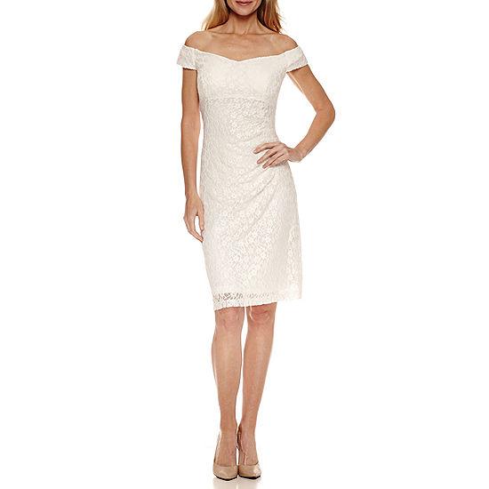 ed4b33c392 Scarlett Sleeveless Pattern Sheath Dress JCPenney